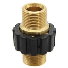 Universal High Pressure Washer Hose Quick Connector M22 Metr