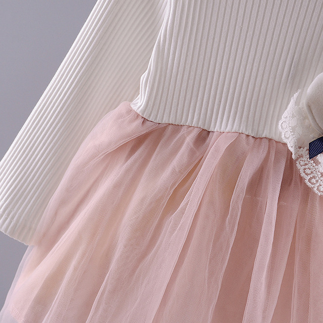 Baby Girl's Cartoon Rabbit Dress 4