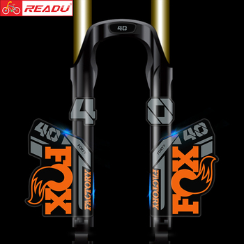 2021 fox float factory 40 mountain bike fork stickers MTB speed down mountain fox 40 latest front fork decals latest mosso m6 mountain bike fork aluminum alloy 810g bicycle plug mtb suspension lighter than fox