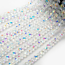 beads wholesale 30pcs 8mm Round Faceted Crystal Glass Beads for Making Jewelry Diy Beads Spacer Glass Beads for Jewelry Making цены
