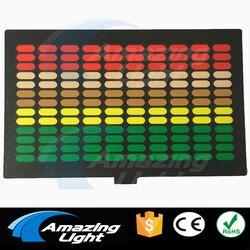 ECUALIZADOR sonido Flash activo El Panel led camiseta panel Decoración led panel intermitente con inversor