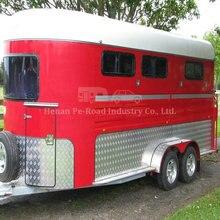 Na zamówienie z fabryki rozmiar projekt Camper Off Road Caravan Travel Living Box 3 przyczepa do przewozu koni