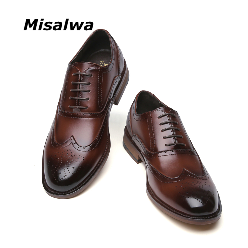 Stylish Chic Men/'s Casual Work Pointed PU Leather Lace Up Wedding Formal Shoes S