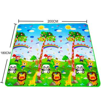 Playmat mata do zabawy dla dzieci zabawki dla dzieci mata dywan dla dzieci rozwijająca się mata gumowa Eva gra piankowa 4 puzzle dywany piankowe DropShipping tanie i dobre opinie Z pianki MA (pochodzenie) 200cmX180cmX3mm Unisex Edukacyjne SOFT Bez muzyki maboshi Play Mat Cała 0 5 cm 0-12 miesięcy