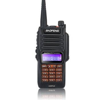 Baofeng UV-9R Plus Waterproof Walkie Talkie UHF VHF Dual Band 8W 128CH ham FM Radio with earpiece - sale item Walkie Talkie