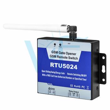 2G sterownik gsm do otwierania bramy automatyczne napędy do drzwi przełącznik zdalny kontrola dostępu mechanizm otwierania drzwi zdalnie odblokuj za pomocą bezpłatnego połączenia telefonicznego RTU5024 tanie i dobre opinie Automatyczne bram 12V Input Max 50mA Average 25mA DC12V 1A (Standard adapter) 3A 240V AC 850 900 1800 1900MHz Free phone call SMS commands