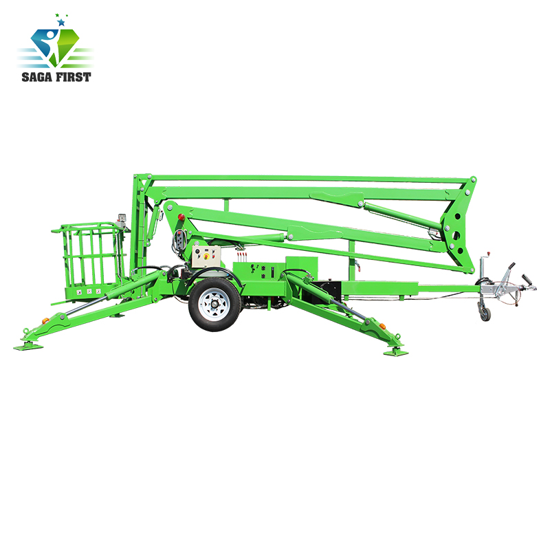 12m 16m High Quality Cherry Picker Diesel Articulated Boom Lift