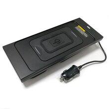 10 Вт автомобильное QI Беспроводное зарядное устройство беспроводное мобильное зарядное устройство аксессуары для Volvo XC60 S90 V90 XC90 для iPhone