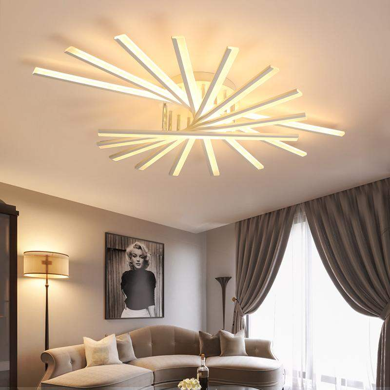 Led Remote Control Chandelier With Fan Lampshade For Living Room Bedroom Dining Study Room Aluminum Led Ceiling Lamp Fixtures Chandeliers Aliexpress