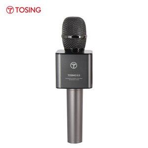 Image 5 - TOSING Q12 2020 חדש נייד קריוקי מיקרופון אלחוטי Bluetooth רמקול כף יד מוסיקה נגן KTV נסיעות SupportUSB כרטיס לשחק