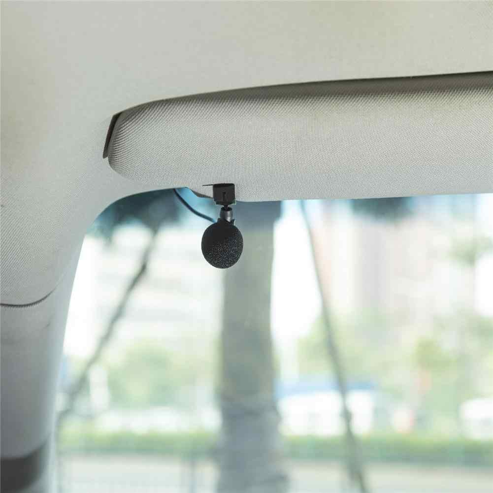 車の外部マイク 3.5 ミリメートル 3 メートルの Bluetooth オーディオケーブル U 字型のクリップラジオ自動 DVD プレーヤーカーアクセサリー