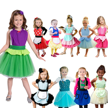 Halloween Costumes for Girls Costume Princess Costume Halloween Costume Girl Birthday Party Dress Up girl princess dress rapunzel dress up baby snow white belle cinderella cosplay costume for party birthday halloween
