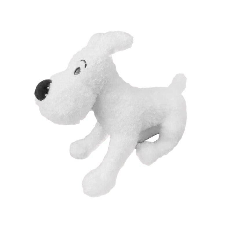 The Adventures of Tintin Medium Snow Mild Tintin Dog Cute Soft White Dog Plush Toy Doll Children's Birthday Gift