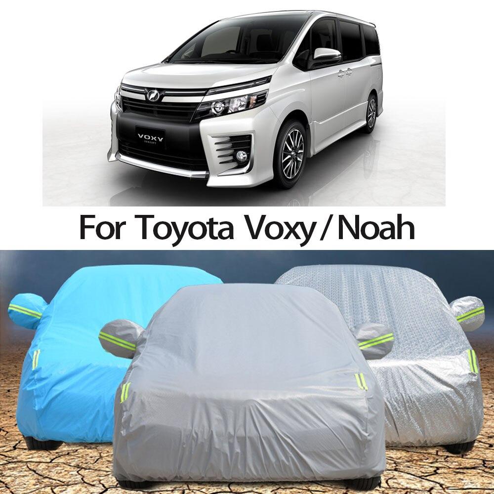 Водонепроницаемые автомобильные чехлы для Toyota voxy Noah, защита от солнца для автомобиля, защита от пыли, дождя, снега Автомобильные чехлы      АлиЭкспресс