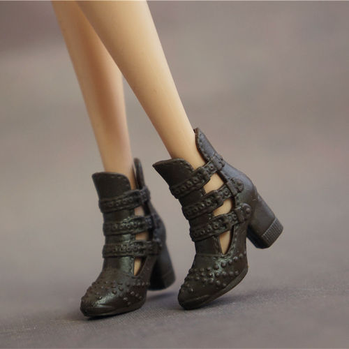 Doll Shoes Mix style High Heels Sandals Boots Colorful Assorted Shoes Accessories For Barbie Doll Baby Xmas DIY Toy 5