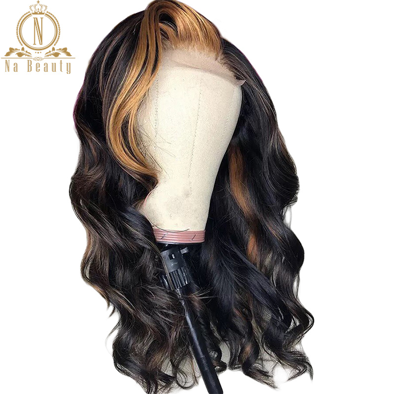 Fake Scalp 180% 13x6 Lace Front Wig Loose Wave 27 Blonde Color Bleached Knots Undetectable Lace Human Hair Wigs Preplucked Remy