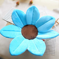 Babies Bath Cushion Four and Seven Petals Flower Mats Sunflower Cushion Mat Non slip and Soft Newborn Products Baby Care