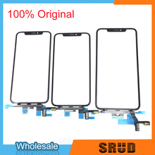 מקורי LCD מגע זכוכית מסך עבור iPhone X Xs XS מקסימום 11 פרו Max הקדמית חיצוני זכוכית פנל החלפת חלקים