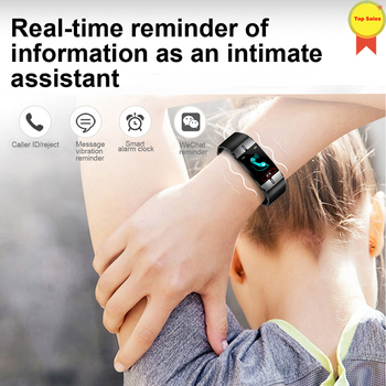 smart watch IP68 Waterproof Body Fat Detection Smart Bracelet Blood Pressure Heart Rate Monitor ppg Smart Band best gift to girl