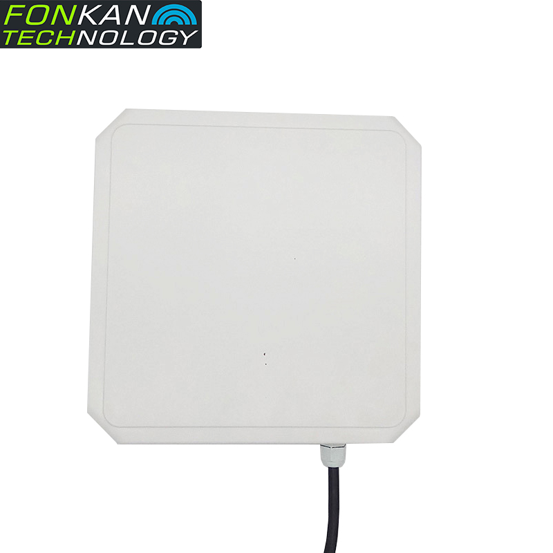FONKAN 865-928MHz  9dBi Antenna Integrated UHF RFID Reader RS232 Interface PR9200