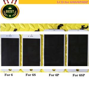 Image 1 - LCD 6S,6g,6s p,6P, идеальное касание, экран хорошего качества, дисплей 6S и 6s p в сборе