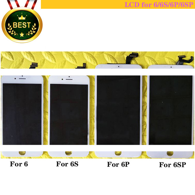 LCD 6S,6g,6s p,6P, идеальное касание, экран хорошего качества, дисплей 6S и 6s p в сборе