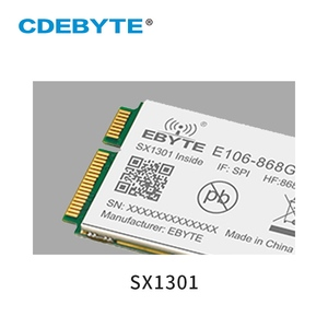 Sx1301 lora gate-way 868 mhz spi transceptor sem fio módulo 27dbm long range 5km para programm