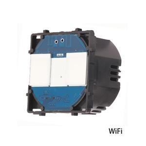 Image 1 - Bingoelec 2 Gang 1 Way WIFI Switch Part EU Standard Touch Sensor Wireless Control Smart Home Automation Part By Tuya APP