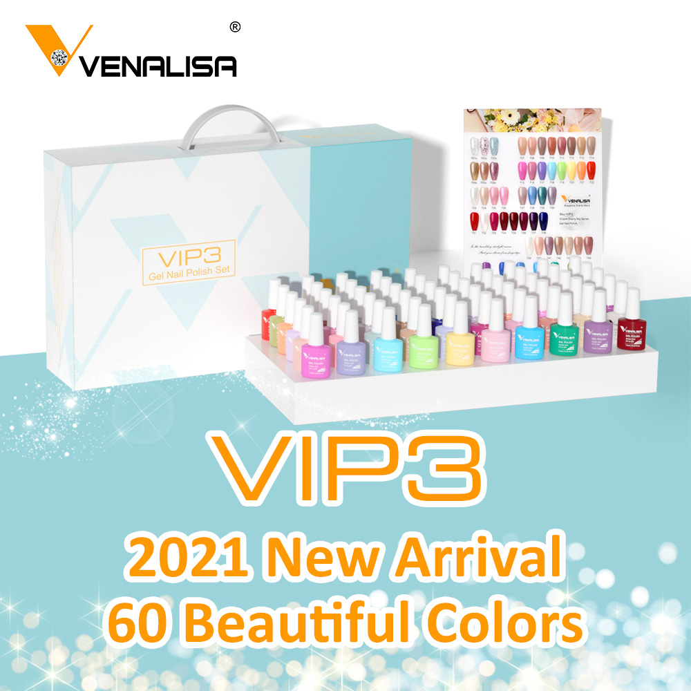 VENALISA Non Cleansing Topcoat CANNI Nail Art 7.5ml Soak off Base Coat Foundation without Sticky Layer No Wipe Top Coat Nail Gel 6