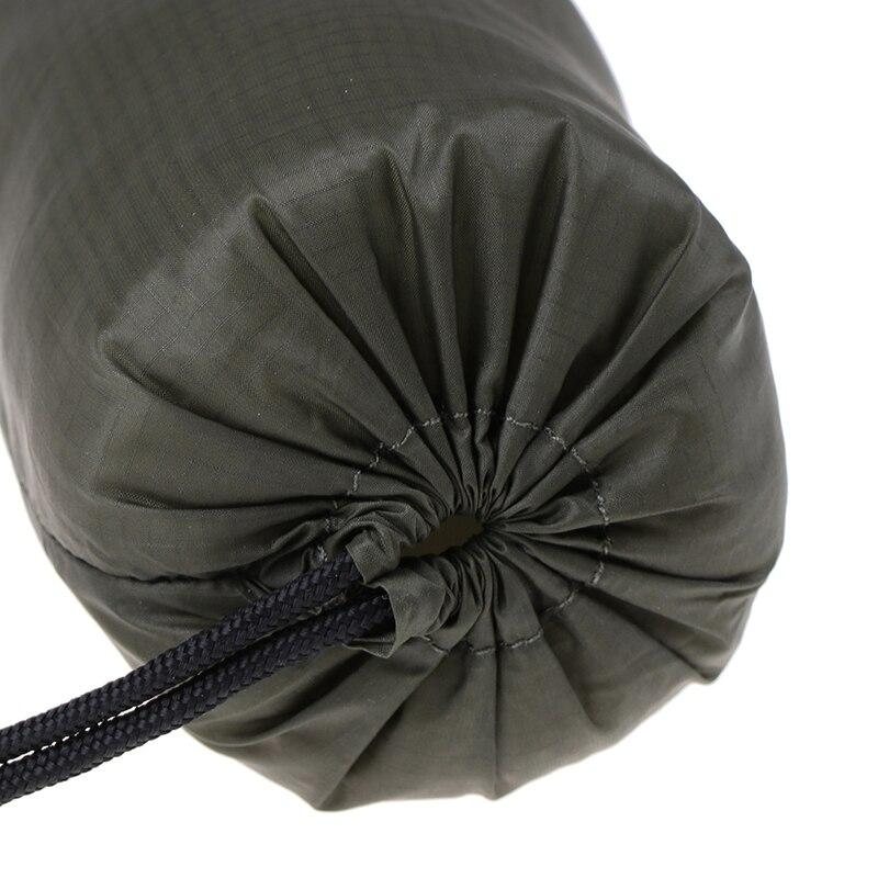 1 шт. легкий спальный мешок для кемпинга, сумка для хранения, Открытый аварийный спальный мешок для хранения с кулиской, мешок для кемпинга, туризма