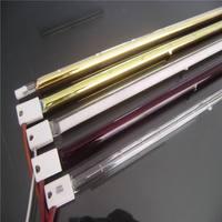 Elemento de aquecimento do tubo de quartzo do forno de torradeira infravermelho do elemento de aquecedor tubular de vidro|Peças p/ aquecedor elétrico| |  -