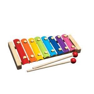 Image 5 - QWZ مونتيسوري ألعاب خشبية الطفولة ألعاب تعلم الأطفال أطفال طفل كتل خشبية ملونة التنوير لعبة تعليمية