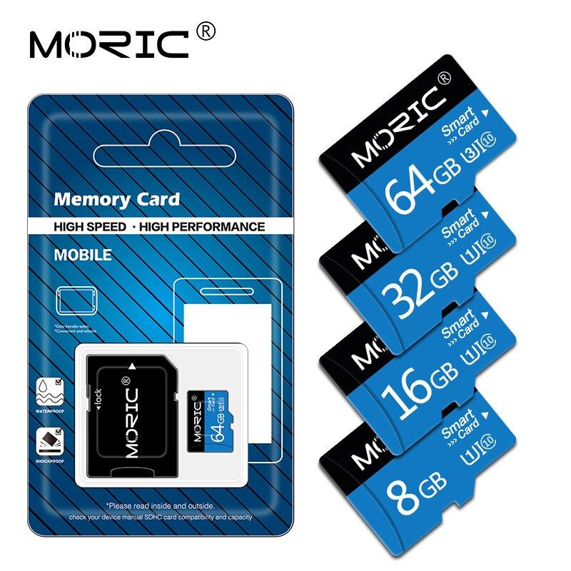 Новая карта Micro SD TF 4 ГБ 8 ГБ 16 ГБ 32 ГБ 64 Гб 128 Гб класс 10 Флэш-память Microsd карта 8 16 32 64 128 ГБ для адаптера смартфона