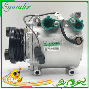MSC90C AC A/C Air Conditioner Compressor Cooling Pump Pulley PV6 for Mitsubishi Lancer 4G63 2.0 AKC200A205AR MN185575 MR216055