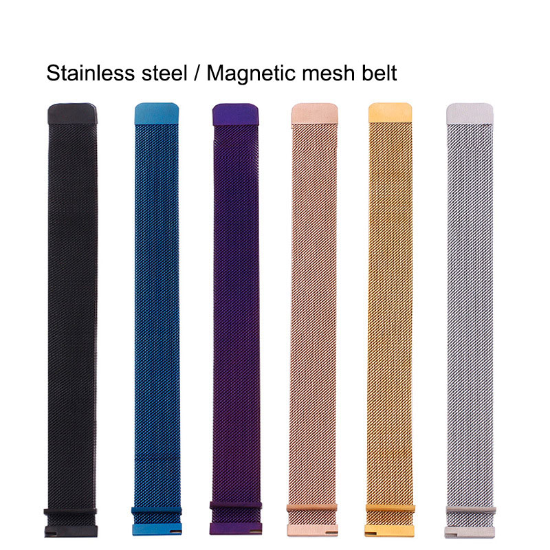 16mm Metal Stainless Steel Milanese Loop For Huawei Talkband B3 Magnetic Watch Bracelet Strap For Moto 360 2nd Gen Women's 42mm