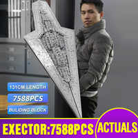 DHL 05028 Star Toys Wars The Lepining 10221 Executor Super Star Destroyer Set MOC-15881 Building Blocks Kids Christmas Toys Gift