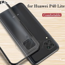 Phone Case for Huawei P40 Lite Case Nova 7i Cover Translucent Frosted PC Matte Back Bumper Case for Huawei Nova 6 SE P 40 Lite for fundas huawei p40 lite case cover smooth skin thin pc matte phone case for huawei p40 lite case coque funda huawei nova 6 se