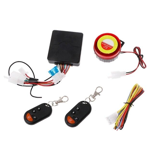 QILEJVS système dalarme de moto | Anti-vol, sécurité à distance, moteur, démarrage, immobilisateur, livraison directe