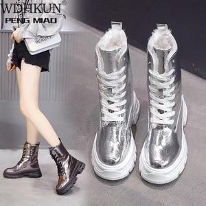 Женские ботинки; Зимняя обувь; Женские очень теплые зимние ботинки; Женские ботильоны; Зимняя обувь; Botas Mujer; Плюшевые пинетки; 2020