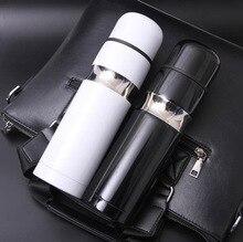 Botella de agua con termo de acero inoxidable, termo de acero inoxidable de alta calidad con marca increíble