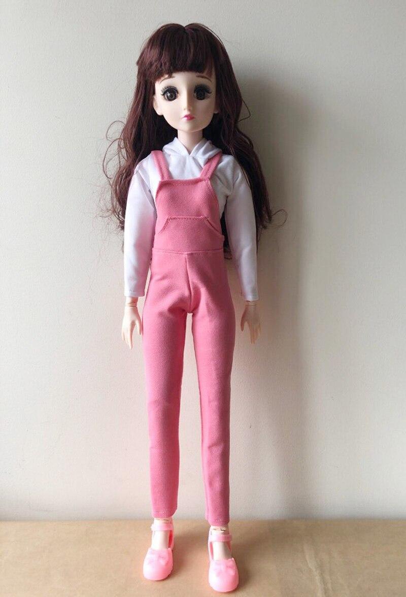 Belle 60CM mobile Joint bébé poupées 1/3 BJD poupée pour filles jouets dormir accompagner poupée anniversaire cadeau de noël