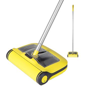 Floor Sweeper Cleaner Microfiber Flat Mop for Hardwood Ceramic Tile Laminate Carpet Home Kitchen Pet Hair Dust Cleaning Mopping