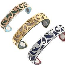 Legenstar Jonc Interchangeable Cuff Bracelet Manchette Femme 2019 Stainless Steel love Bracelets Bangles For Women Jewelry