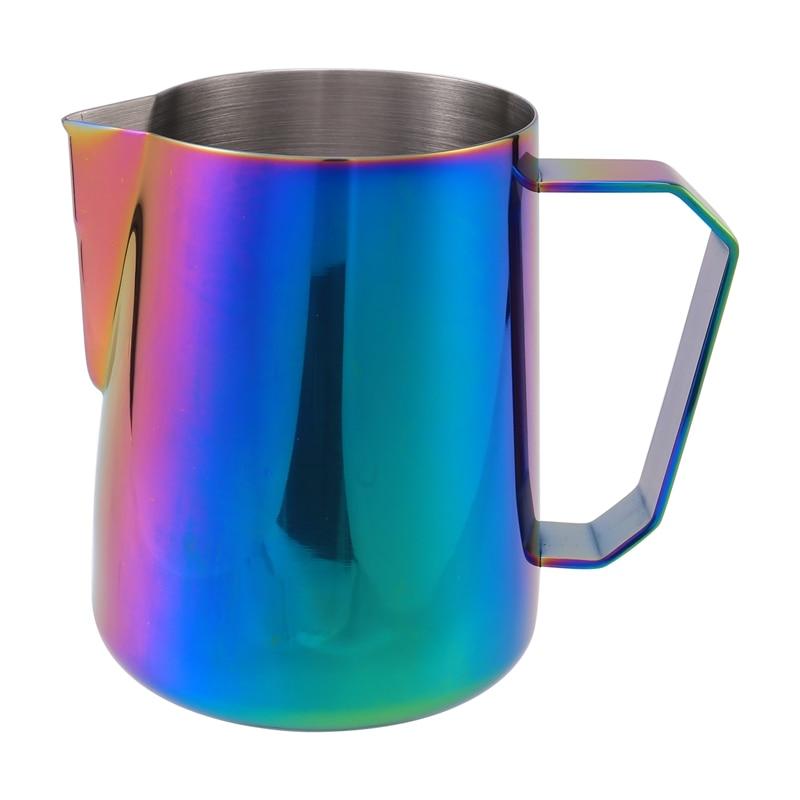 Espresso Steaming Pitcher 600ML, Espresso Milk Frothing Pitcher, Coffee Milk Frothing Cup, Coffee Steaming Pitcher