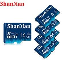 SHANDIAN Quente venda 8 32gb micro sd Cartão de memória gb 16gb gb gb 128gb CLASS10 64 32 cartao de memoria micro sd card Cartão de memória flash Pendrive
