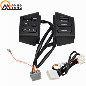 Image 2 - NEW Car accessories steering wheel control buttons with backlight Buttons Connecting wire FOR Nissan LIVINA TIIDA SYLPHY