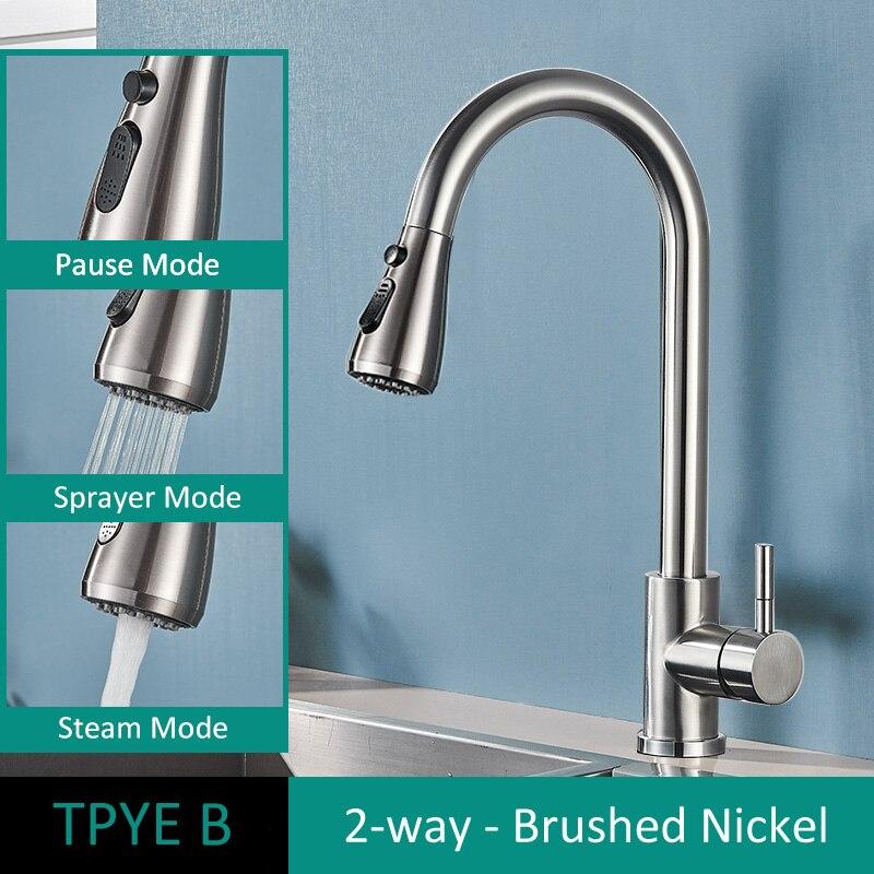 TYPE B Brush Nickel