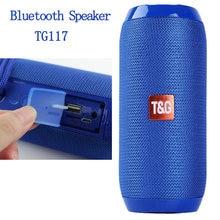 Barra de sonido envolvente con bluetooth Tg117, sistema de sonido estéreo 3d para música, tf/aux/usb