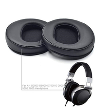 Soft Cushions Ear Pad Replacement For Denon AH-D2000 D5000 D7000 Headphones Memory Foam To Enhance Noise Blocking Earpads Eh# ear pads replacement cover for denon ah d2000 ah d5000 ah d7000 headphones original earmuffes headphone cushion
