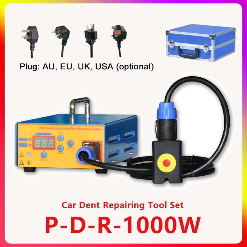 1000W araba Dent çıkarma ısıtıcı araba Dent onarım aracı otomatik vücut Paintless çıkarma araçları profesyonel P-R ısıtma makinesi